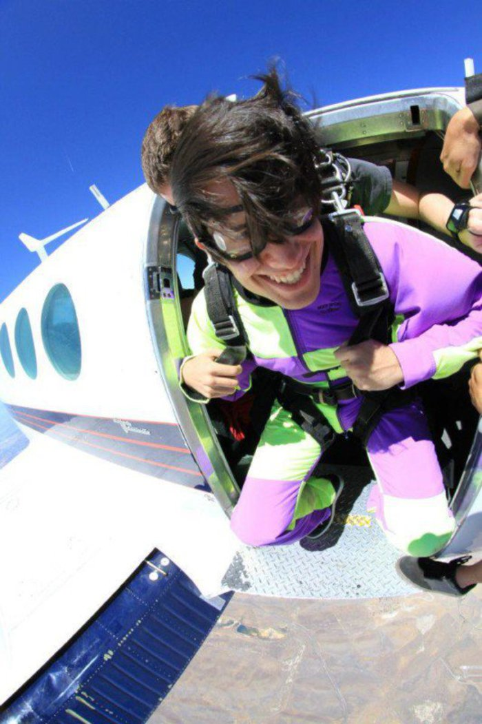 Skydiving Pablo. Click for full size.