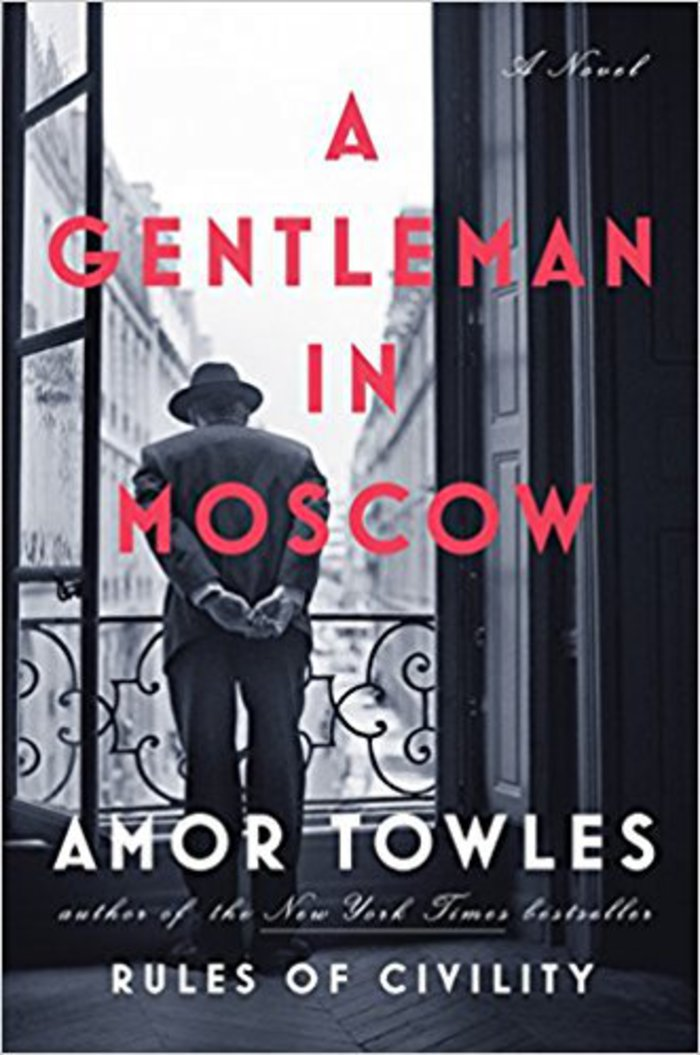 Gentleman in Moscow cover.