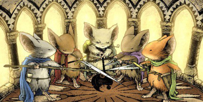 Many guardmice. Click for full size.