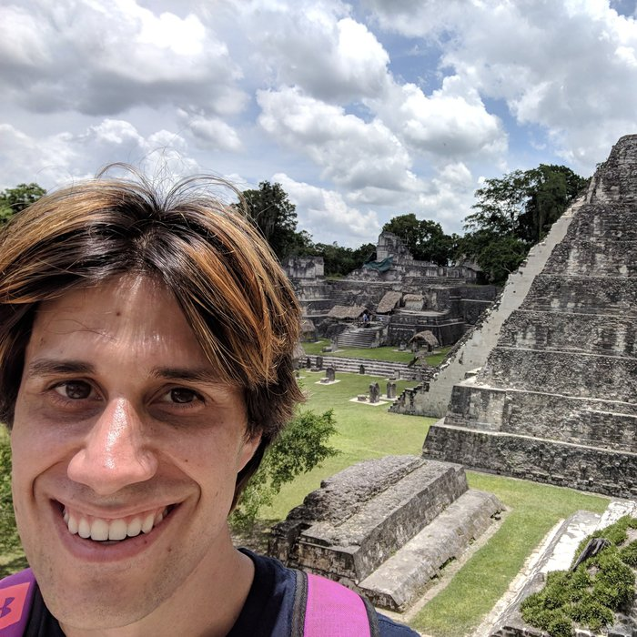 Pablo in Tikal. Click for full size.