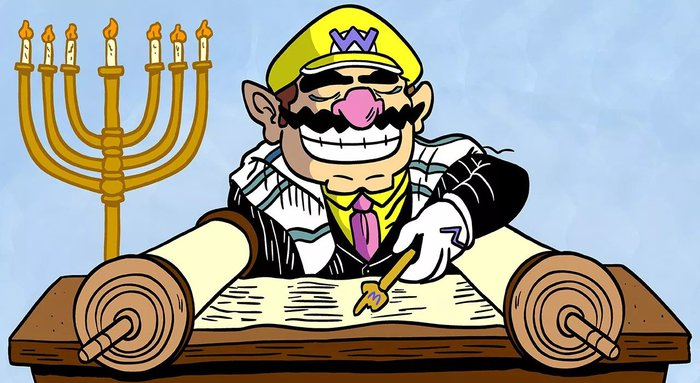 Wario is a great rabbi.