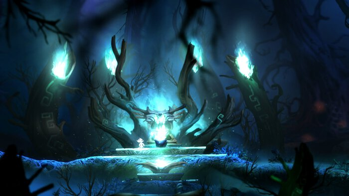Screenshot from Ori and the Blind Forest.