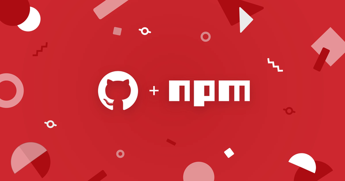GitHub + npm announcement graphic.