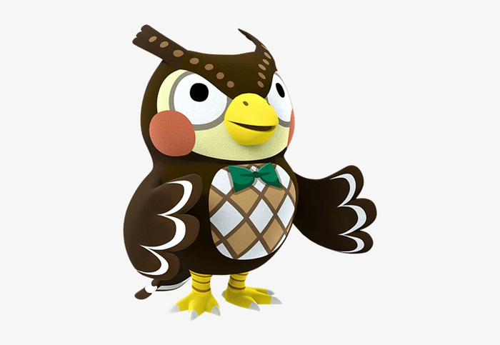 Blathers from Animal Crossing.
