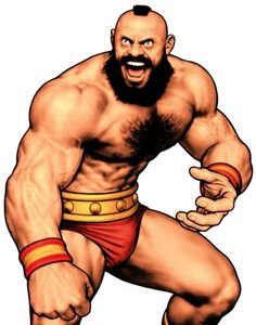 Zangief from Street Fighter II